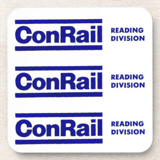 Conrail Reading Division 1976 Cork Coasters