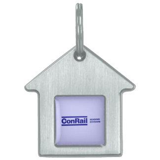 Conrail Reading Division 1976 Pet ID Tag