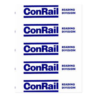 Conrail Reading Division 1976 Postcard