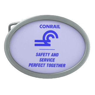 Conrail Safety and Service Belt Buckle
