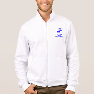 Conrail Safety and Service Fleece Zip  Jogger Printed Jacket