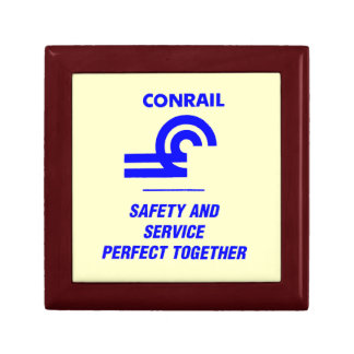Conrail Safety and Service Giftbox Jewelry Box