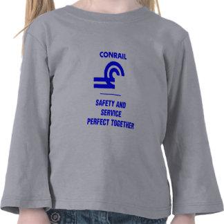 Conrail Safety and Service Logo Shirts