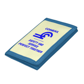 Conrail Safety and Service Logo Trifold Wallet