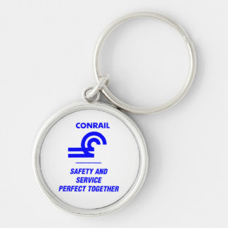 Conrail Safety and Service Perfect Together Keychain