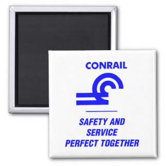 Conrail Safety and Service Perfect Together Magnet