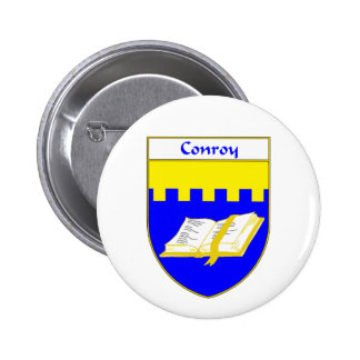 Conroy Coat of Arms/Family Crest 2 Inch Round Button