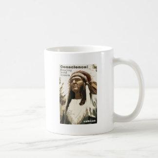 Conscience: Breaching Social Amnesia Coffee Mug