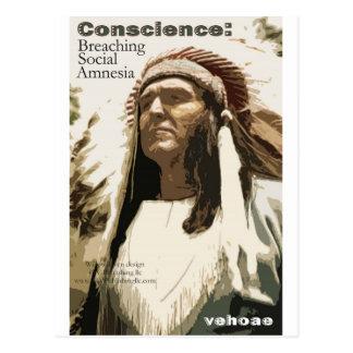Conscience: Breaching Social Amnesia Postcard