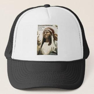 Conscience: Breaching Social Amnesia Trucker Hat