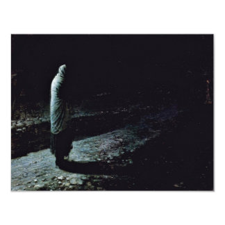 Conscience Judas By Ge Nikolaj Nikolajewitsch 4.25x5.5 Paper Invitation Card