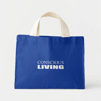 Conscious Living Tote Bag