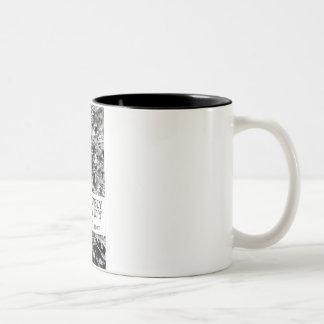 Consciously Numb, A To Y 11oz Two Tone Mug