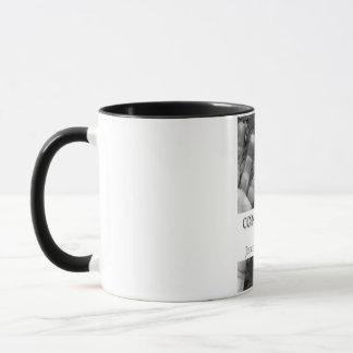 Consciously Numb, Volume 1 11oz Black Ringer Mug