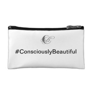#ConsciouslyBeautiful® Cosmetic Bags