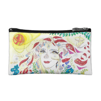 Consciousness expansion cosmetic bag
