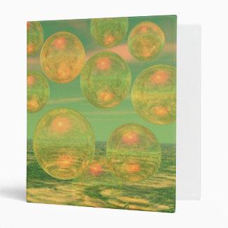 Consciousness – Gold and Green Awakening 3 Ring Binder