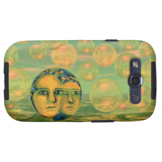 Consciousness – Gold and Green Awakening Samsung Galaxy SIII Covers