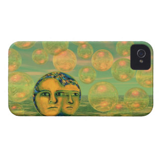 Consciousness – Gold and Green Awakening iPhone 4 Case-Mate Case