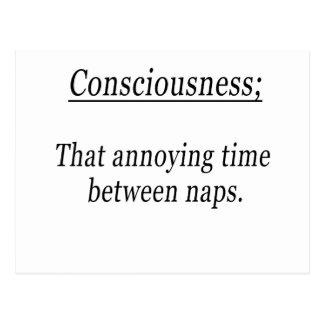 Consciousness Postcard