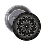 Consciousness - Sacred Geometry Mandala Pinback Button
