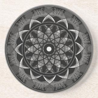 Consciousness - Sacred Geometry Mandala Drink Coaster