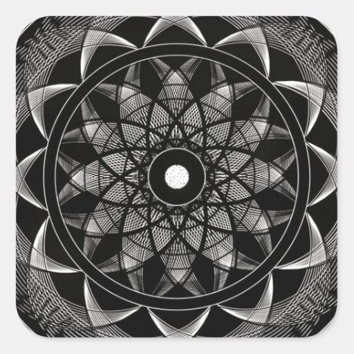 Consciousness - Sacred Geometry Mandala Sticker