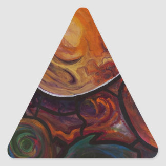 Consciousness Triangle Sticker