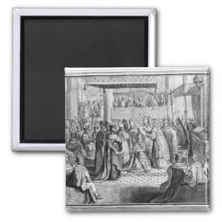 Consecration and Coronation of Henri IV Magnet