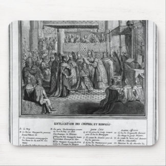 Consecration and Coronation of Henri IV Mouse Pad