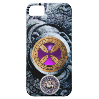 CONSECRATION CROSS AND SEAL OF THE KNIGHTS TEMPLAR iPhone 5 COVER