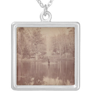 Consecration Lake Silver Plated Necklace