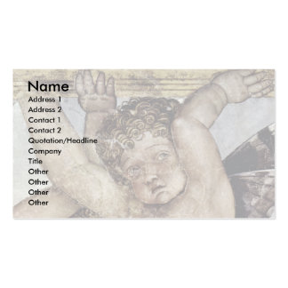 Consecration Of Putti Plate  By Mantegna Andrea Double-Sided Standard Business Cards (Pack Of 100)