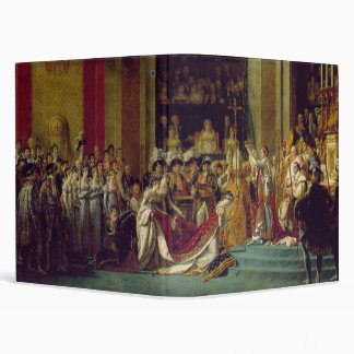 Consecration of the Emperor Napoleon 1 3 Ring Binder