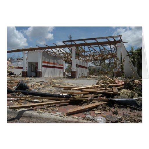 Consecuencias de Charley del huracán, agosto de 20 Tarjeta Pequeña