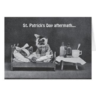 Consecuencias del día de St Patrick Tarjeta De Felicitación