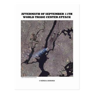 Consecuencias del World Trade Center del 11 de sep Postales
