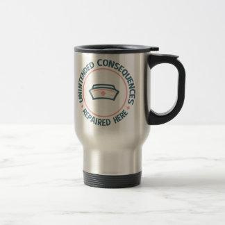 Consecuencias involuntarias reparadas tazas de café
