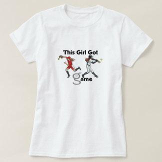 Conseguí a chicas del juego señoras camisa del
