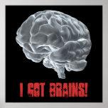 ¡Conseguí cerebros! Poster