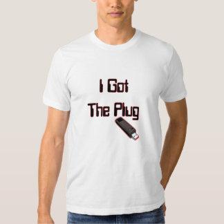 Conseguí el enchufe (USB) Camisas