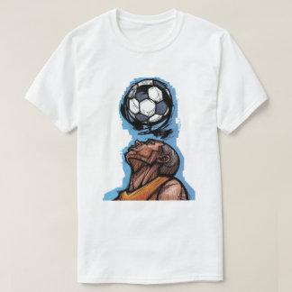 Conseguí el juego - camiseta (del fútbol)