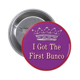 Conseguí el primer Bunco Pin Redondo De 2 Pulgadas