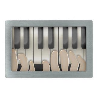 ¡Conseguí jugado por Piano Man! #2 (hebilla del ci Hebillas De Cinturón Rectangulares