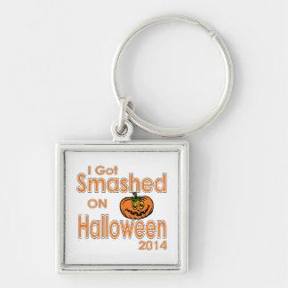Conseguí la calabaza rota Halloween 2014 Llaveros Personalizados