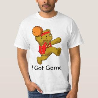 Conseguí la camiseta del oso de peluche del juego