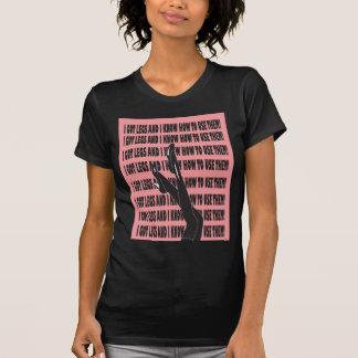 Conseguí la camiseta Diseño-RGB de las piernas Polera