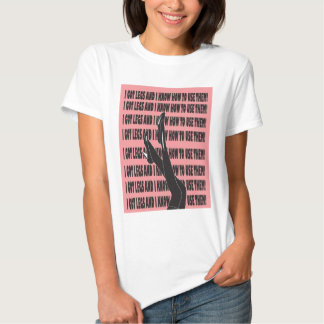 Conseguí la camiseta Diseño-RGB de las piernas Remeras