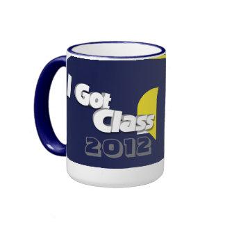 Conseguí la clase 2012 taza a azul y del maíz