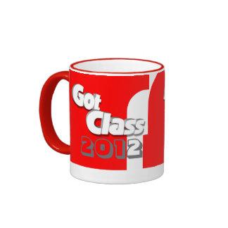 Conseguí la clase 2012 taza a roja y blanca